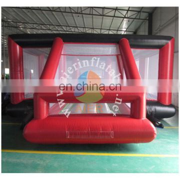 2017 new design inflatable football field/soap inflatable soccer playgroup