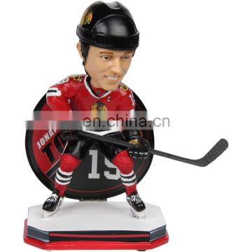 New design resin sport player statues desk decoration accessory