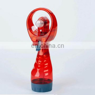 New design electric mini handheld water spray fan
