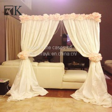 RK wedding drape for wall and wedding decoration with colorful ...