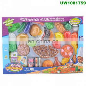 1fc329d39963 ... Play Food Set for Kids   Toy Food for Pretend Play - Huge 125 Piece Play  ...
