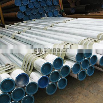 Hot dip powder coated galvanized round steel pipe