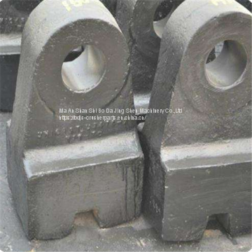 Custom Quality Recycling Metal Shredder Spare Part Hammer