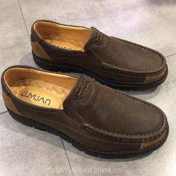 High Quality Genuine Leather handmade sofy soles Driving Shoes and Sneakers for Men Slip-on Loafers