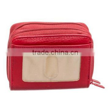 RFID ID Safe Women's Wallet With Double Zip