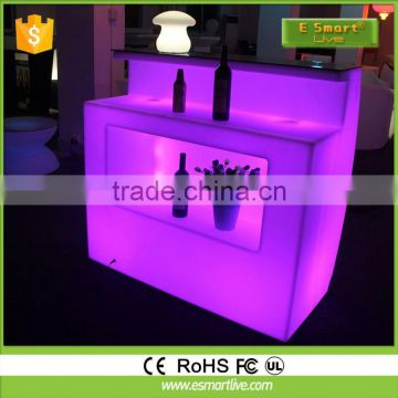 rechargeable multi colors changing lighting up led cube magic / battery power led chair /colors changing led table