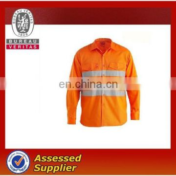 safety casual shirt with 3M reflective tape