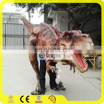 Realistic T-rex adult realistic dinosaur/dragon/robot costume for sale