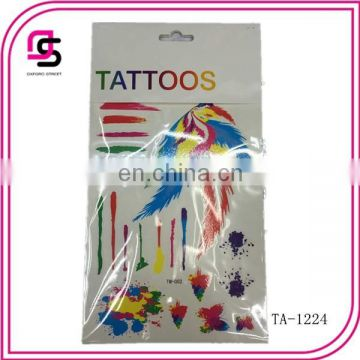 special design for 2015 body body temporary tattoo
