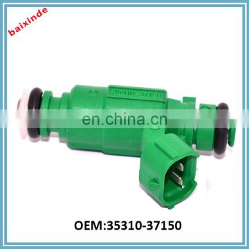 Hot sale auto spare parts fuel injector OEM 35310-37150 3531037150 for Hyundai Rio Accent 1.6L 2006-2009