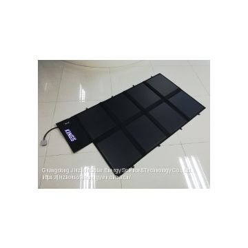 120W Folding Solar Blanket for holiday, camping, car charger