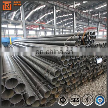 ASTM A53 4 inch welded steel tube, sch40 black carbon steel erw pipes