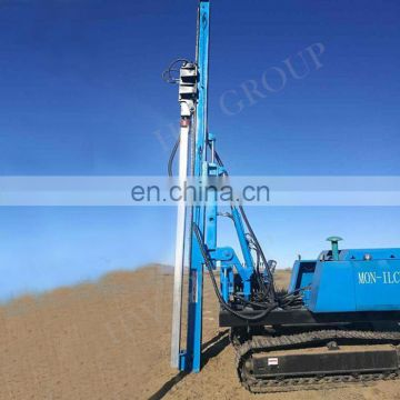 Vibrating Hydraulic Post Driver Piling Machine Mini Excavator Pile Driver