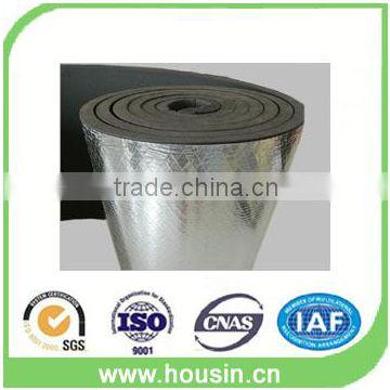 elastomeric fireproof rubber foam insulation duct sheet of