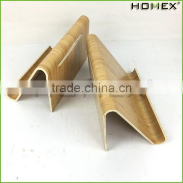 Bamboo Pad Holder Display Stand for Pad Homex BSCI/Factory