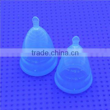 Cheap 100% Soft Medical Grade Silicone Menstrual Cups