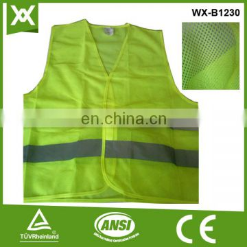 factory / suppliers polyester class2 tape made fluo high vis EN20471 supplier warning safety vest