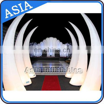 High Quality The Leading Market For With Led Light Inflatable Ivory Cone