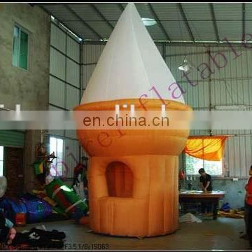 Inflatable ice cream bar, inflatable shop bar T026