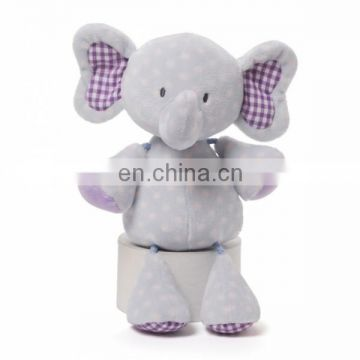 Light comfort evert-elephant-plush-blue plush toy