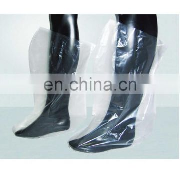 disposable PE transparent boot cover
