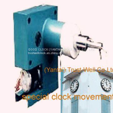 mechanism movement for tower clocks