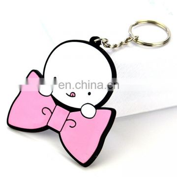Keychain Maker Wholesale Custom Cheap Cute Soft Pvc Doll Keychains No Minimum