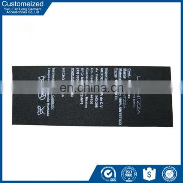 China factory wholesale care label for wool