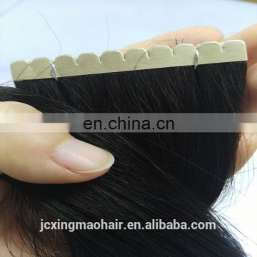 Double drawn Double Side Tape Remy Hair Extensions,Virgin Remy tape Hair 8A Grade Brazilian Virgin Human Hair