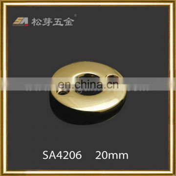Innovative promotional round eyelet wood buttons