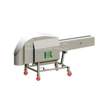 Industrial high speed vegetable slicing machine