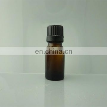 5ml Amber Glass essential oil Bottles with counter drop oil dropper and black cap