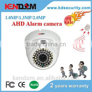 2016 Kendom New Items AHD Alarm Camera for home security camera compatible with DVR AHD 1080p for warhouse, basement, home use