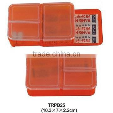 medicine container and band aid container for promotional