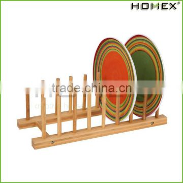 Eco Dish Rack Utensil Holder, Beautiful and Durable Bamboo/Homex_Factory