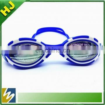 High quality custom silicone swimming goggles wholesale