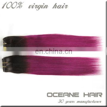 no tangle no shedding no chemical virgin real human purple weave hair