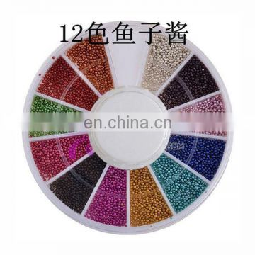 Wholesale popular colorful nail product 3d nail art product