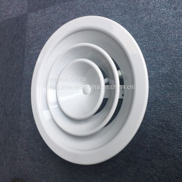 Round Ceiling Diffuser Parts with Damper Factory