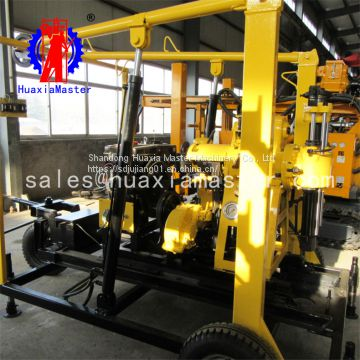 XYD-130 crawler hydraulic water well drilling rig