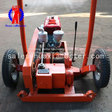 SH30-2A exploration drilling rig Portable sampling drill for gold ore mine can be impacted and rotated