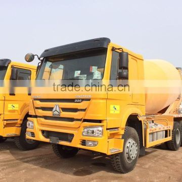 HOWO 6X4 10 WHEEL 9 cubic meters concrete mixer truck