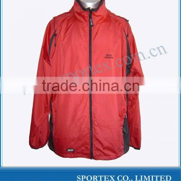 2012 Latest Fashion OEM Running jackets