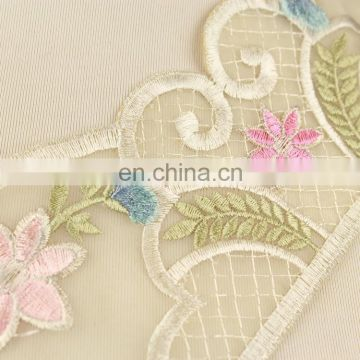 China embroidery lace saree lace and border for decoration