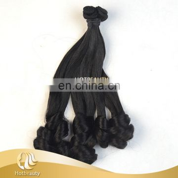 Hot beauty remy funmi curl hair double drawn hair