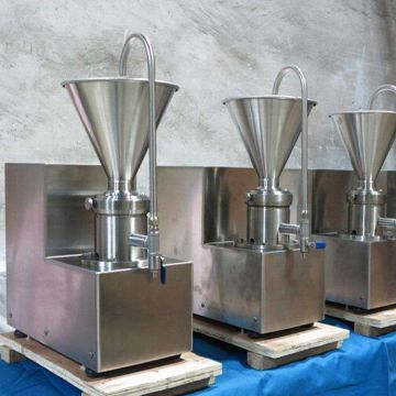 250-300kg/h Commercial Nut Grinder Machine Peanut Butter Press Machine
