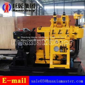 Borehole Drilling Rock Sample Hydraulic Press Diesel Engine Water Well Drilling Rig