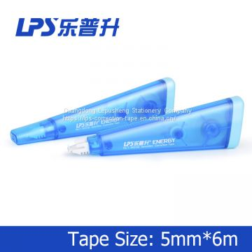 Special Shape Blue Correction Tape Pen Cute Correction Roller Good Quality