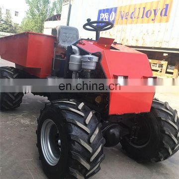 1Ton ZY100 4WD  High Quality  New Diesel Mini Site Track Dumper