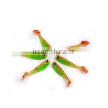 Hot Sell 48mm Soft PVC Plastic Fishing Lures